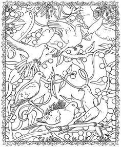 Free Coloring Page from dover publications