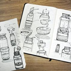 Pin by robin stethem on id - sketching industrial design sketch, sketches, draw Sketch Inspiration, Design Inspiration, Computer Sketch, Bottle Drawing, Sketching Techniques, Buch Design, Industrial Design Sketch, Water Bottle Design, Hand Sketch