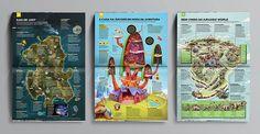 """Confira o belo trabalho editorial """"Mapas da Cultura Pop"""" elaborado com maestria pela equipe dessa edição especial da revista Mundo Estranho."""