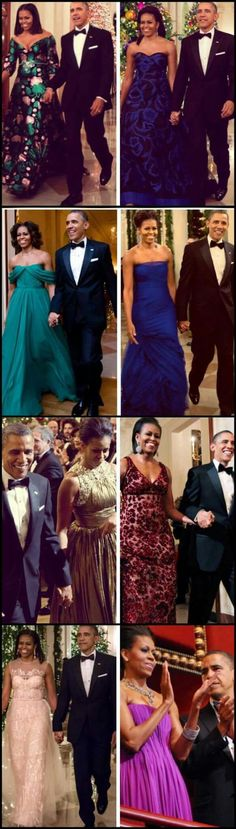 The Obamas + Kennedy Center Honors 2009-2016  #44 #President Of The United States  Of America Commander In Chief #BarackObama #FirstLady Of The United States  Of America #MichelleObama