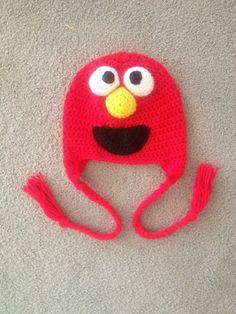 Elmo Sesame Street Hat via Etsy