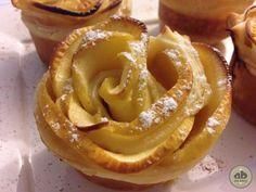 Flores de hojaldre y manzana | Alice Bakery