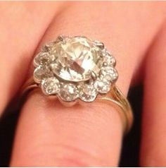 Gorgeous engagement ring tagged by #stonefoxrings