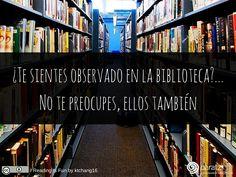 ¿Te sientes observado en la biblioteca?... No te preocupes, ellos también