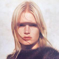 When supermodels ruled the world | vodis: Kirsten Owen by Albert Watson for Vogue...