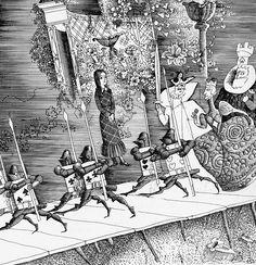 çizgili masallar: Alice's Adventures in Wonderland by Gennady Kalinovsky Part 1
