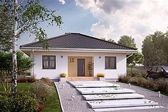 Projekt domu Fistaszek 2 Plans, Garage Doors, House Design, Outdoor Decor, Home Decor, Houses, Homemade Home Decor, Architecture Illustrations, Decoration Home
