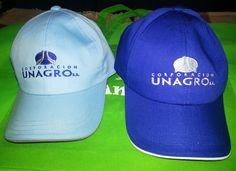 Combinación perfecta Gorras Corporación Unagro