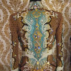 WUTHERING HEIGHTS    Custom made showmanship jacket for Tracey Hehr.