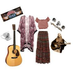 phoebe buffay inspired outfits