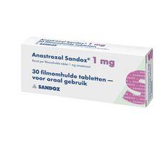 Der selektive Aromatasehemmer Anastrozol wird nicht nur bei der Behandlung von Brustkrebs mit Erfolg eingesetzt, sondern kommt auch bei Athleten, die mit aromatisierenden Anabolika dopen, zur Verwe…