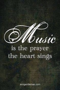 So true! Can't count the number of times singing in church and was moved to tears over the words to the song we were singing! Motivacional Quotes, Great Quotes, Inspirational Quotes, Prayer Quotes, Piano Quotes, Sound Of Music, Music Is Life, My Music, Rock Music