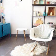 Salon coloré, décoration #madecoamoi