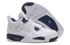 best loved c51e9 5bc3c Air Jordan 4 (IV) Retro White Cement Grey. Femmes JordansJordans Bon MarchéNike  Jordan AirNouvelles Chaussures ...