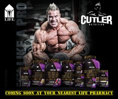 Your First Look at Cutler Nutrition-The official supplement series of 4X Mr. Olympia Jay Cutler! #NewLaunch! Products Coming soon at your nearest LIFE Pharmacy!  Stay connected to know more! #CutlerNation #Lifepharmacy #Sportsnutrition_at_Life