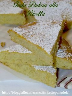 Torta di Ricotta Dukan poche calorie Quando si è a dieta i dolci diventano un miraggi.Questa torta a basse calorie non è un miraggio, ma una vera oasi