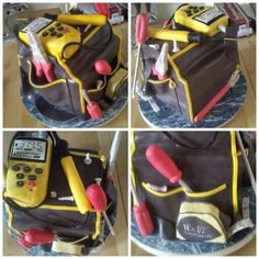 Electrician cake