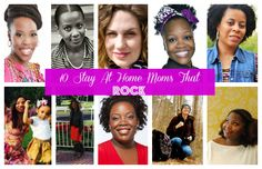 10 Stay At Home Moms That Rock #stayathomemoms #mompreneur