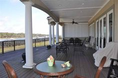 What a GREAT porch on this #OceanIsleBeachNC home! 15 Craven St, Ocean Isle Beach, NC 28469 | Brunswick County #realestate
