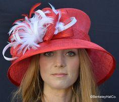 Ladies Tea at the Racetrack Hat