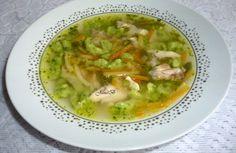 Kuřecí polévka se špenátovou zavářkou Guacamole, Thai Red Curry, Soup, Meat, Chicken, Ethnic Recipes, Catalog, Soups, Soup Appetizers