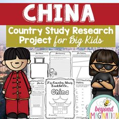 Travel to the land of China with your upper elementary grade learners. This research booklet is perfect to use for an around the world unit, an international day, an international festival, a social studies unit, a cultural school project, a geography project, a cultural day, a cultural fair, a field day, or a multicultural day.