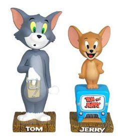 Funko Tom & Jerry 2 Piece Bobblehead Wacky Wobbler Set http://popvinyl.net #funko #funkopop #popvinyls