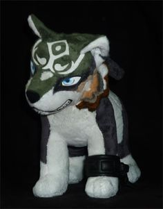 Pokemon Plushies | Wolf Link Plush 18"