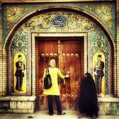 """Knockin on Heaven's Door"" #tehran #iran"