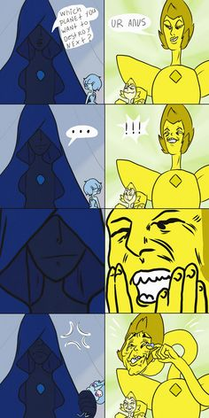 Steven universe,фэндомы,Blue Diamond,SU Персонажи,SU comics,Yellow Diamond