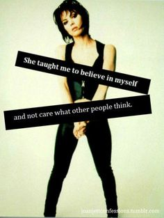 Joan Jett....and why she's one of my heroes.