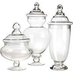 Bungalow At Home: Apothecary Jars & What to Put In Them