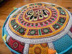 Indian-Style cushion