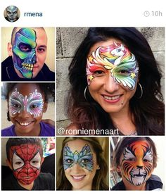 Ronnie Mena Art - Face Painting