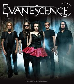 Evanescence Posters | Evanescence: Tour 2012