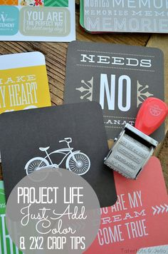 Instagram-friendly Project Life Kit and DIY Photo Tips!!