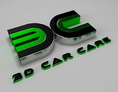 """Check out my @Behance project: """"3D Car Care Logo"""" https://www.behance.net/gallery/22148043/3D-Car-Care-Logo"""