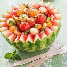 Tupperware - Süß-scharfer Melonensalat