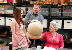 Retro Hairstyles Izzy Decauwert, Christine Brown, Jake Kelsey - Take a look at some unseen shots from Maria Sansone's fitting! Vintage Trends, Vintage Designs, Vintage Ideas, Vintage Photos, Maria Sansone, Bravo Tv, Hair Flip, Retro Hairstyles, Fashion Photo