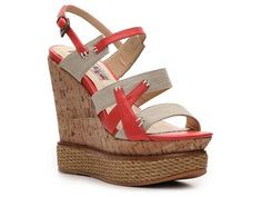 Two Lips Biz Wedge Sandal at DSW.com.. These are fun for spring