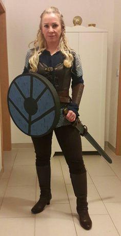 Kostüm Lagertha Schildmaide Vikings