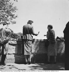 Julia Child and Avis DeVoto, Paris, 1956 - Paul Child
