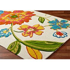 Carlotta Rug / Rug Comfort Grip- love the colors for kitchen rugs