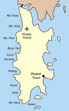 Phuket map.