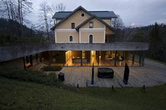 An extension for an existing villa