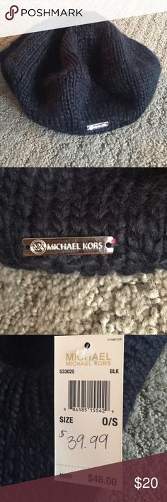 Michael Kors beret new with tags Black Michael Kors beret new with tags MICHAEL Michael Kors Other