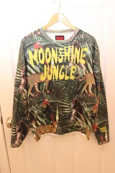 f3e84684144ad RARE Bruno Mars Moonshine Jungle Sweatshirt Pullover Shirt Small S Concert   BrunoMars  Sweatshirt