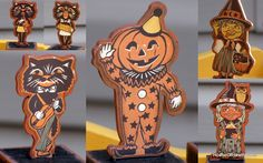 I HAVE THESE THEY SPELL HALLOWEEN.ONE OF MY FAVORITE HALLOWEEN DECORATIONS OF ALL TIME.