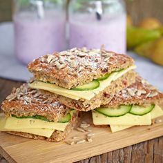 Raw Food Recipes, Bread Recipes, Cooking Recipes, Healthy Recipes, Savoury Baking, Bread Baking, Scandinavian Food, Bagan, Swedish Recipes