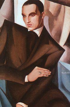tamara de Lempika. Retrato del marqués Sommi